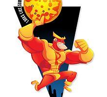 Damien Shanahan's PIZZA MAN by Simon Sherry