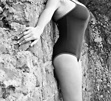 Swimsuit Against Wall by olivercook