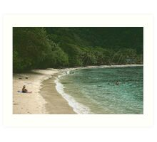 Dreaming Of Turquoise Waters Art Print