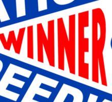 National Speedway Winner Shirt Sticker