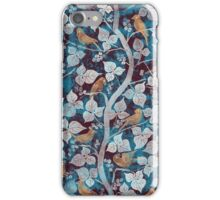 Birds in Blue iPhone Case/Skin