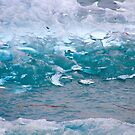 Blue Ice by Barbara  Brown
