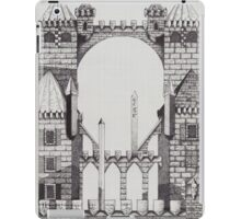 Early castle iPad Case/Skin