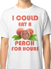 I Could Eat a Peach for Hours Classic T-Shirt