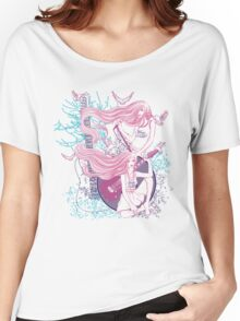 Music, Love, Peace (Color) Women's Relaxed Fit T-Shirt