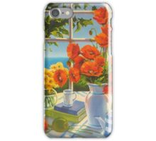 The red poppies and green apples iPhone Case/Skin