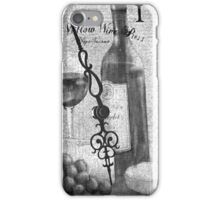 Watching time pass me by. iPhone Case/Skin