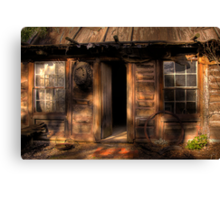 Ned Kelly Home - the hut Canvas Print