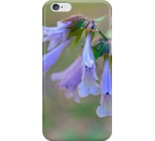 Virginia Bluebell iPhone Case/Skin