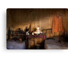 Ned Kelly Home - Ned's room Canvas Print