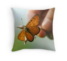 we humanbeing Throw Pillow