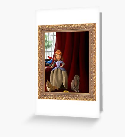 Princess Sofia Greeting Card
