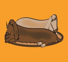 Long Haired Dachshunds by Diana-Lee Saville