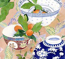 kumquats and ginger jar by Gabby Malpas