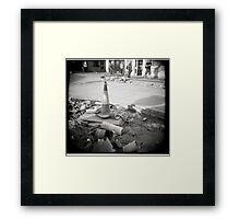 Buried Gas Framed Print