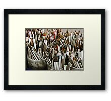paint your life Framed Print