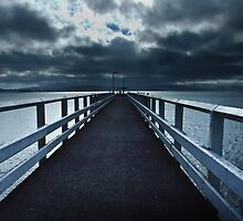 The Pier. Petone, Wellington, New Zealand by Fineli