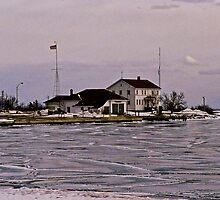 Coast Guard Station by Aaron Stramiello