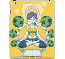 Get Fit - Yellow iPad Case/Skin