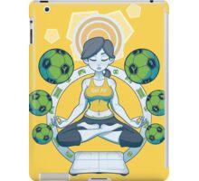 Get Fit - Yellow iPad Case/Skin