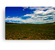 High Plains Canvas Print