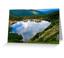 St. Mary's Glacier Lake Greeting Card