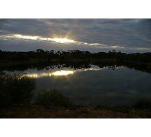 Karalee Rocks Dam, Western Australia Photographic Print