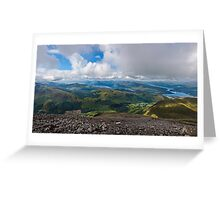 Ben Nevis Panorama Greeting Card