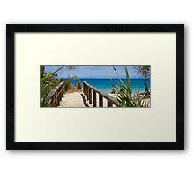 Breathtaking paradise Framed Print