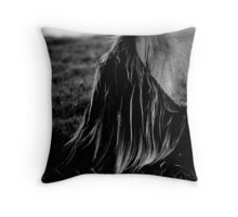Amazing Mane Throw Pillow