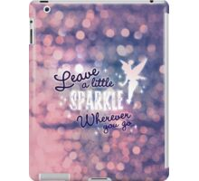 Leave a Little Sparkle Wherever You Go iPad Case/Skin