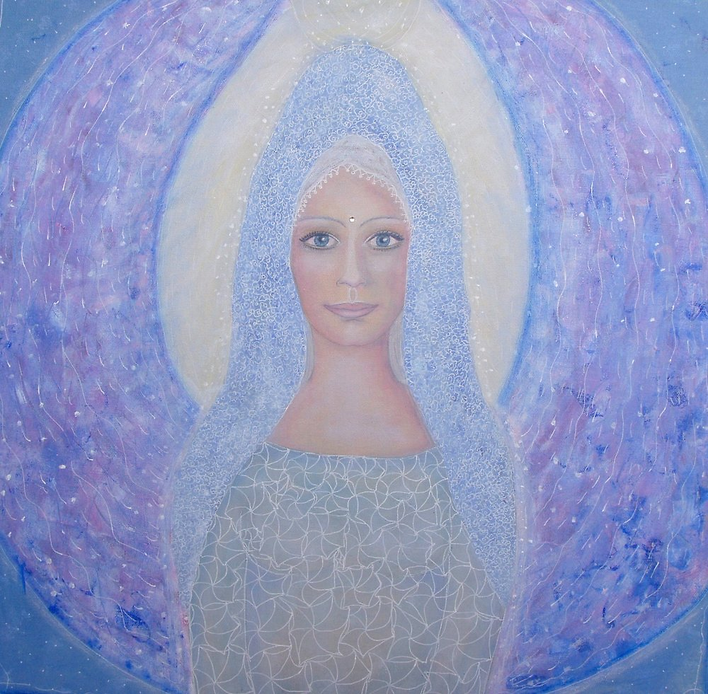 Angel of gentleness by Lilaviolet