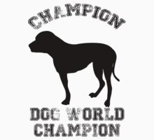 Dog World Champion by zcrb
