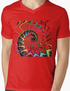Synapse Life Mens V-Neck T-Shirt