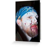 Zombie 61 Greeting Card