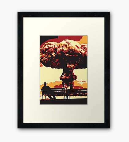 The Loneliest Dawn Framed Print