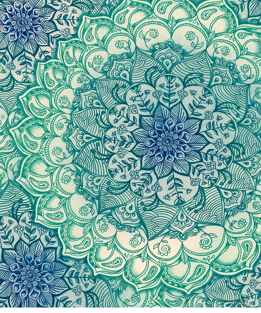 Emerald Doodle by micklyn