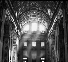 Vatican Light by Wayne Barber