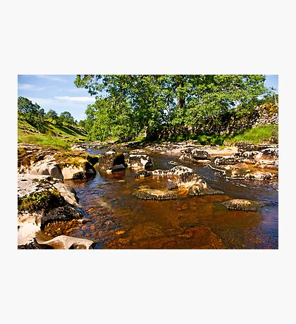 River Wharfe in Langstrothdale Photographic Print