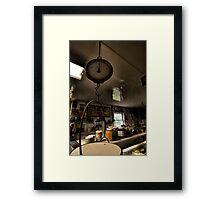 Floyd's Counter Framed Print