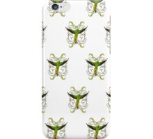 Parrot  Green (Pattern) iPhone Case/Skin