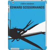 No260 My Scissorhands minimal movie poster iPad Case/Skin