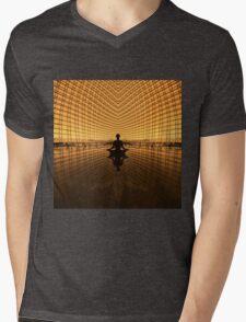 MINDSET Mens V-Neck T-Shirt