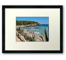 Cala Nova Beach Framed Print