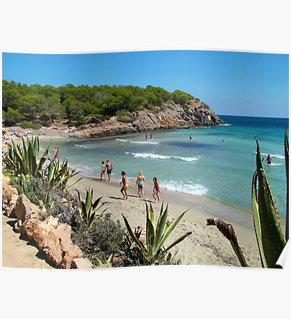 Cala Nova Beach Poster