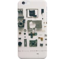 Disassembly Camera iPhone Case/Skin