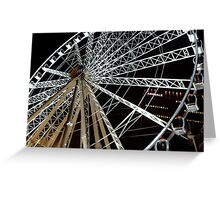 Big Wheel - Manchester (Colour) Greeting Card