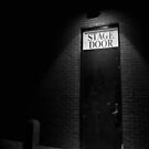 The Firehouse Theater Stage Door by Sam Davis