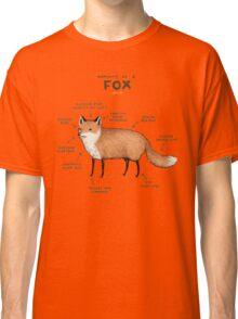 Anatomy of a Fox Classic T-Shirt