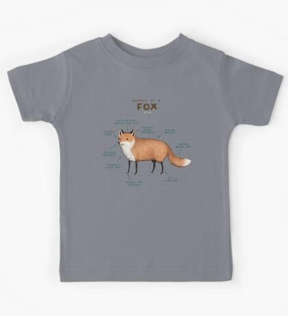 Anatomy of a Fox Kids Tee